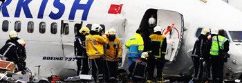 """THY Amsterdam kazasında, DBE Travma Ekibi """"krize müdahale çalışması"""" – 2009"""