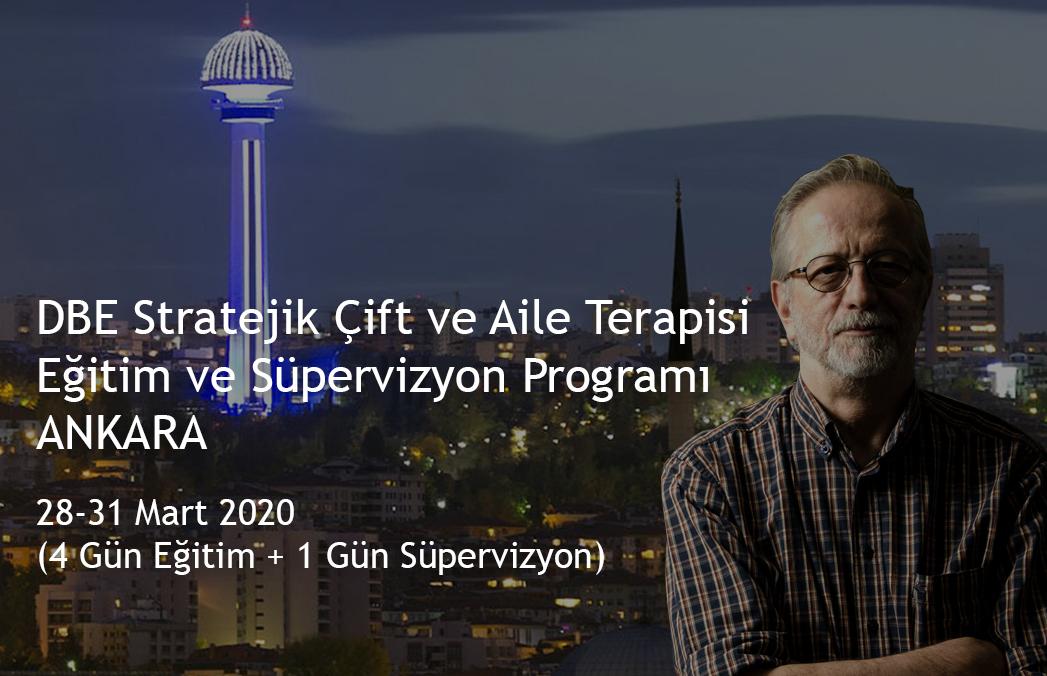 DBE Stratejik Çift ve Aile Terapisi Eğitim ve Süpervizyon Programı - ANKARA - ERTELENDİ